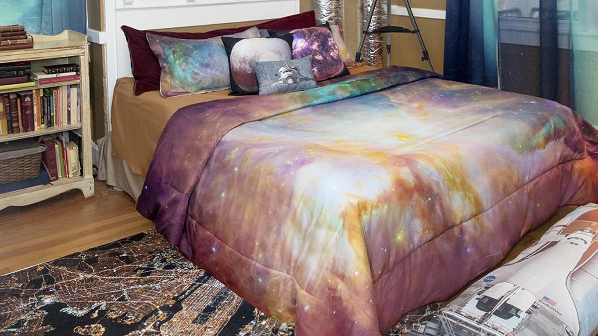 comforter setup