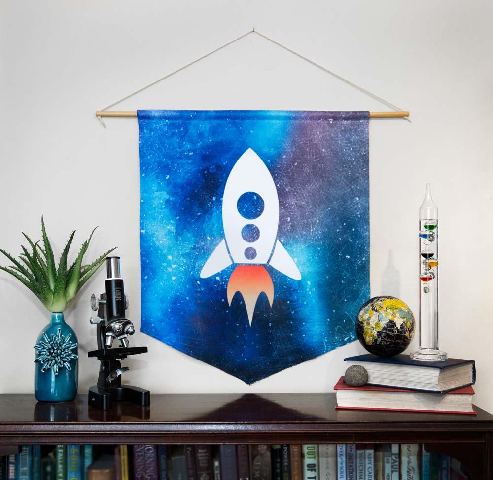 Print-on-demand wall decor