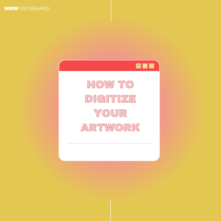 How to Digitize Your Artwork For Print on Demand