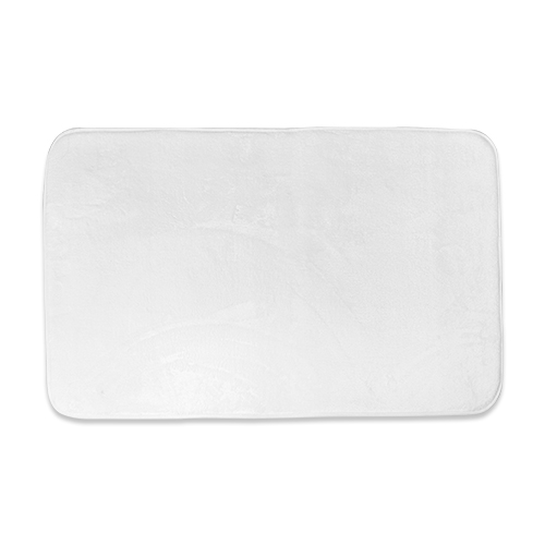 Bath Mat plush microfiber print on demand 1