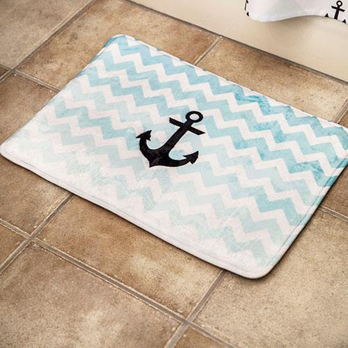 Bath Mat plush microfiber print on demand 2