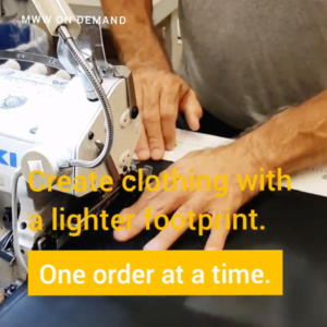 Create clothing with a lighter footprint