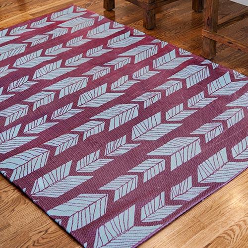 Home decor print on demand dobby rug 2