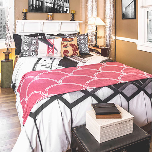 Duvet Cover home decor print on demand 4