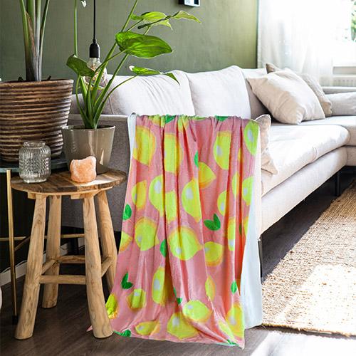 Fleece Blanket print on demand all over print 2
