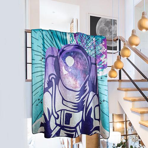 Fleece Blanket print on demand all over print 5