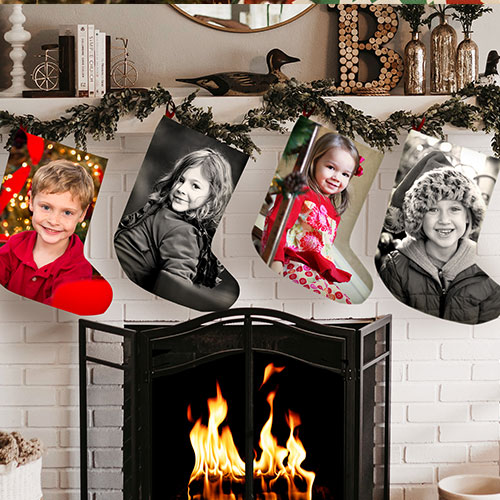 Holiday print on demand 2 stocking