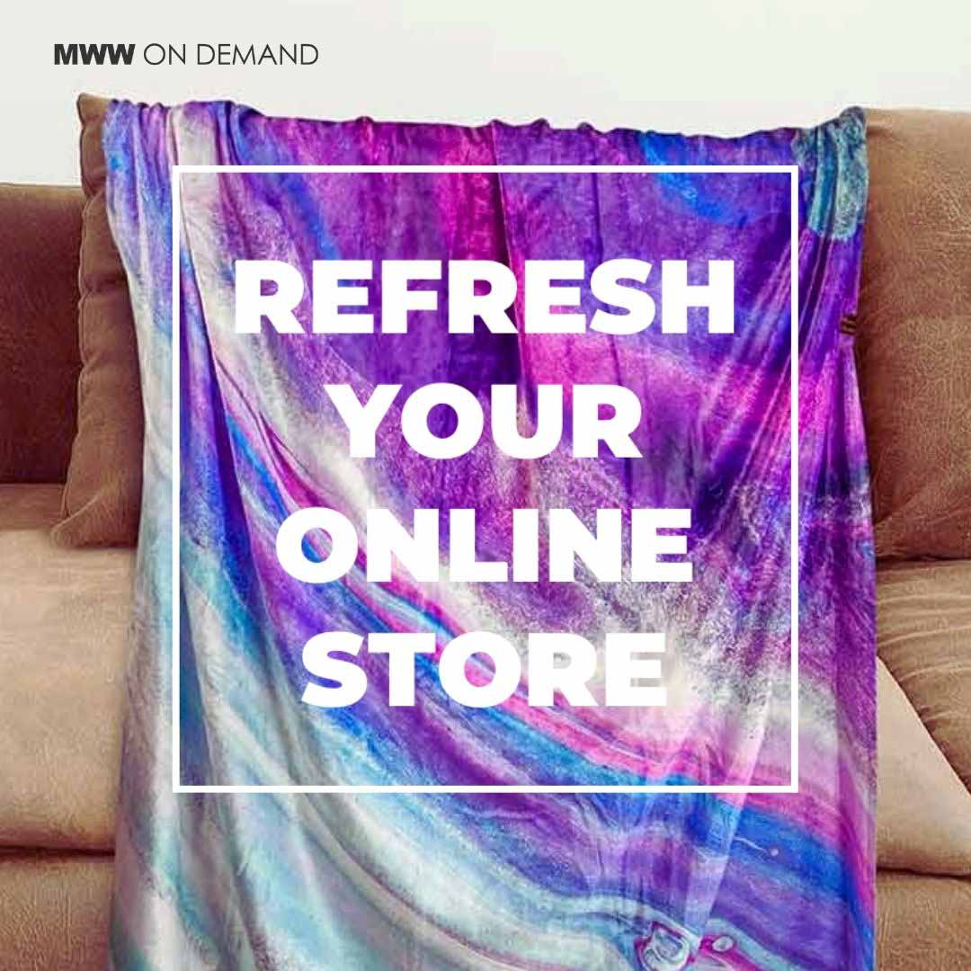 Refresh your ecommerce store